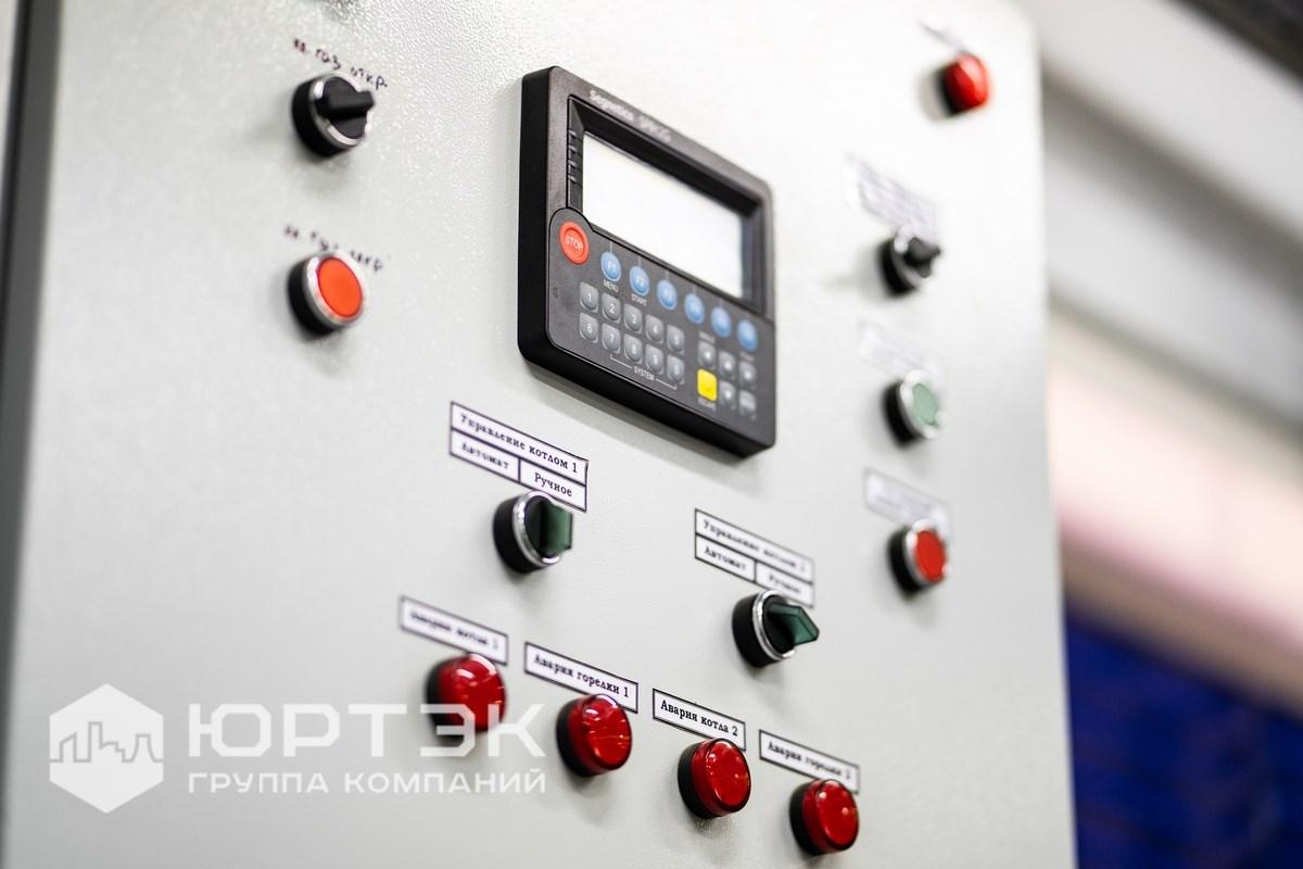 Щит автоматики котельной. Контроллер SMH 2G