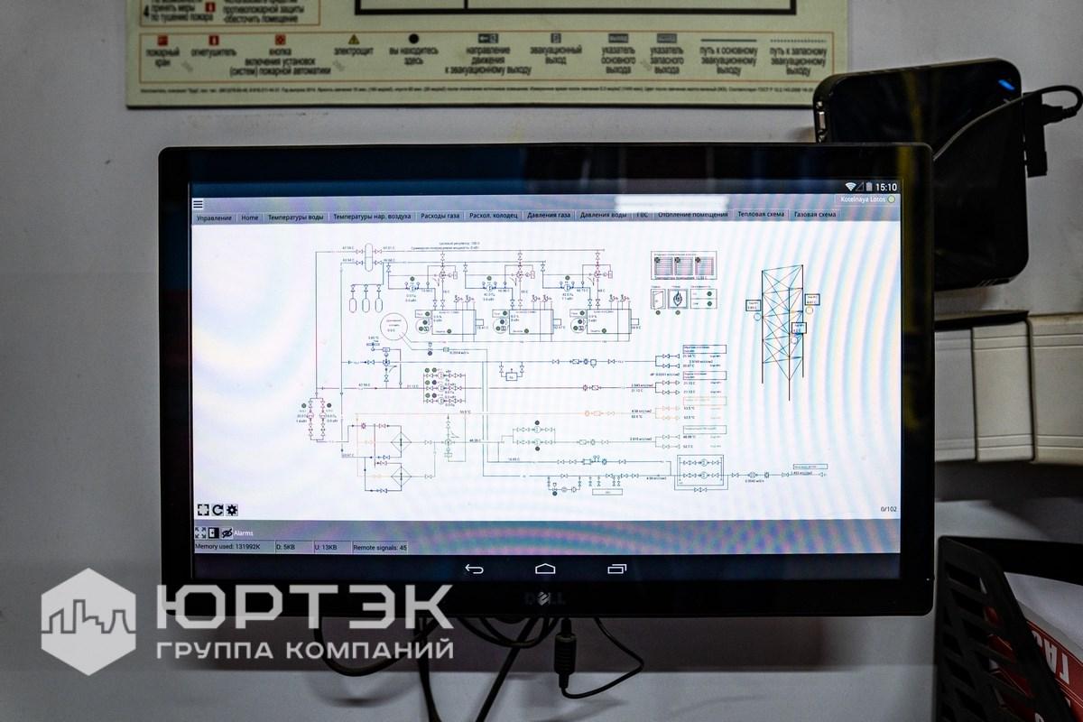 Сенсорный дисплей 24'' с управлением Andrid. В работе Automica