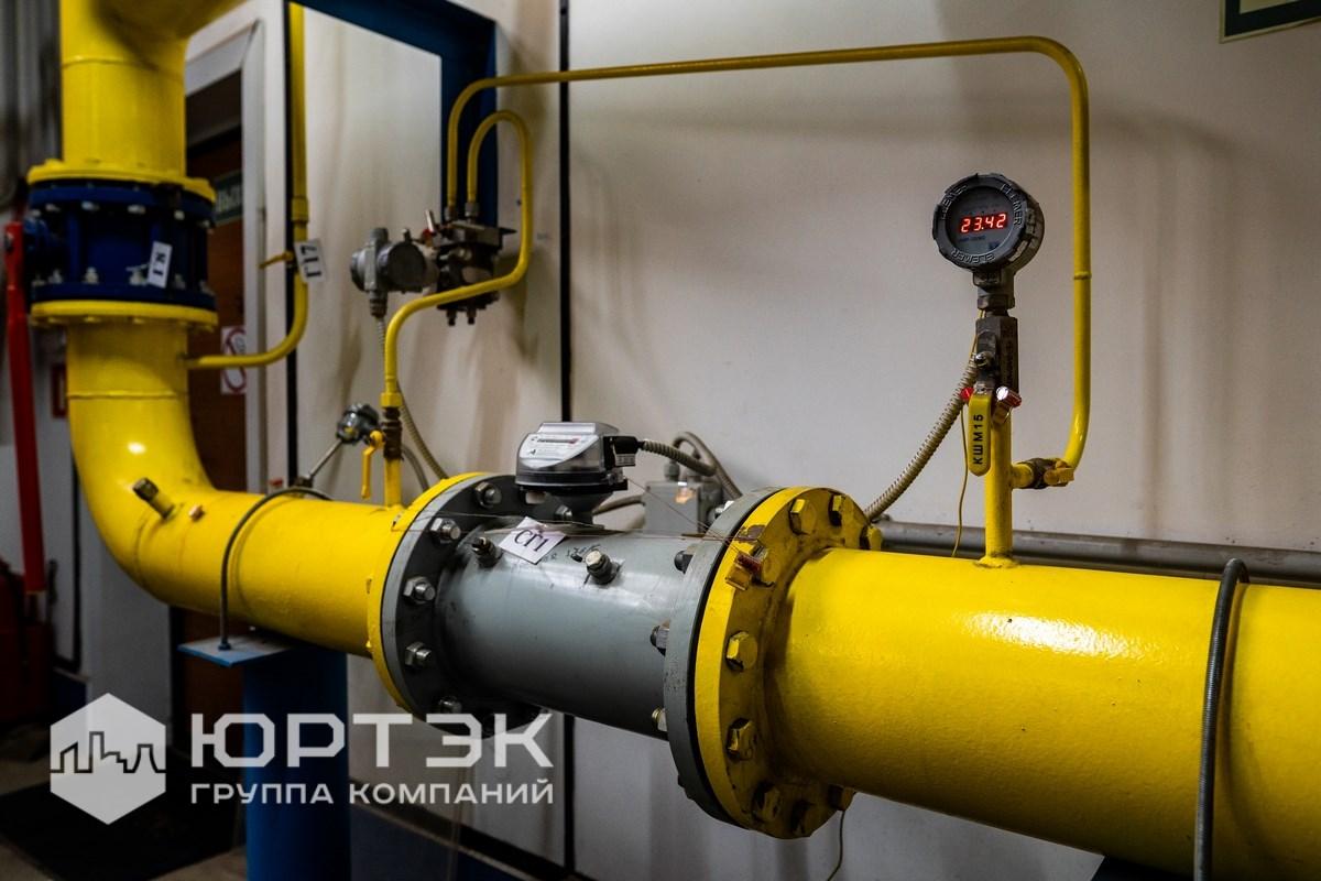 Узел учёта газа Ду200